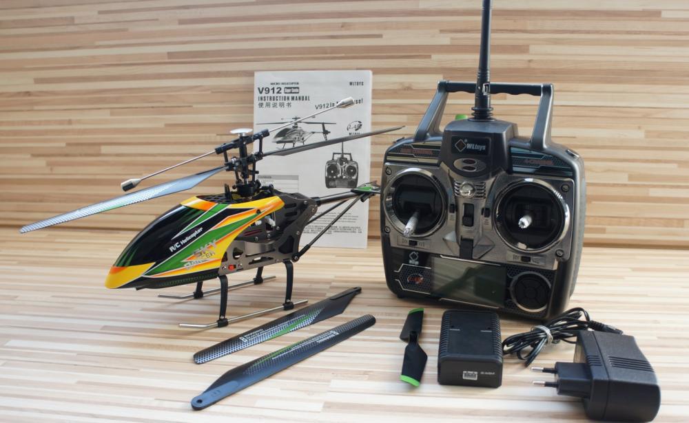 Вертолет WLtoys V912 4CH