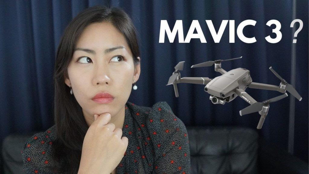 Когда выйдет DJI Mavic 3