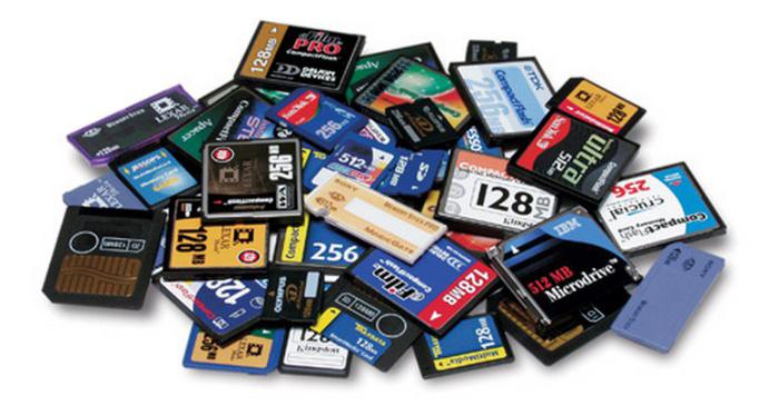 Как и какую выбрать лучшую карту памяти для фотоаппарата