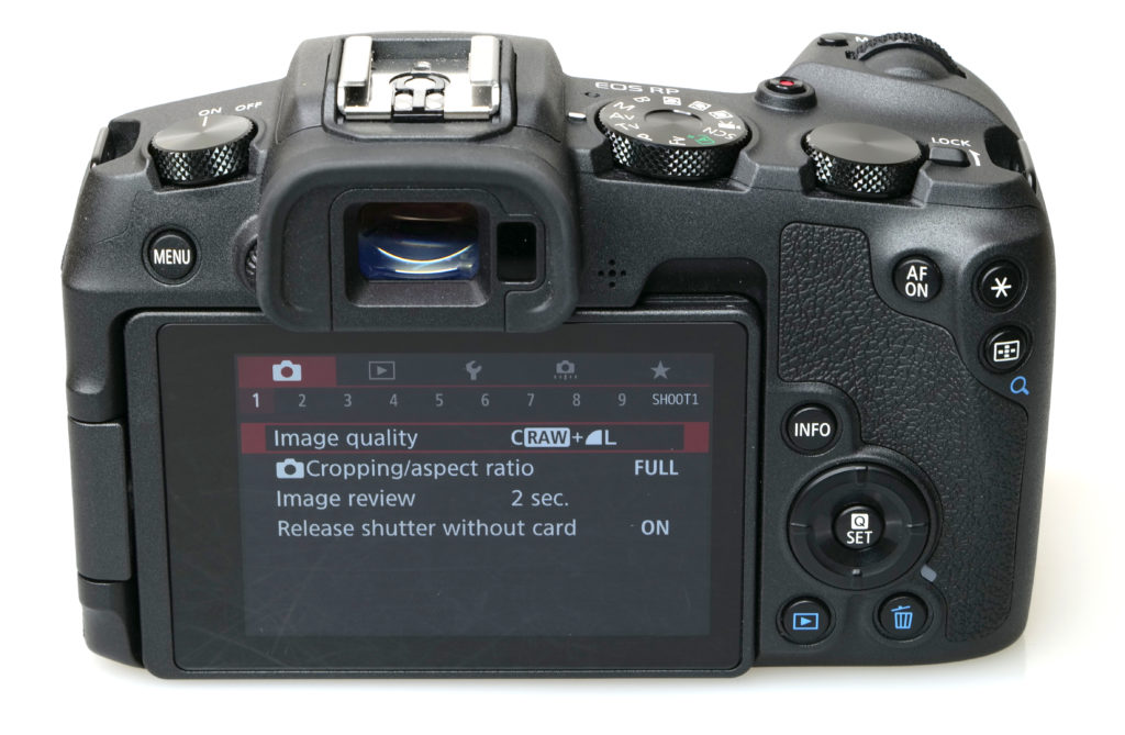 Фотоаппарат Canon EOS RP Обзор