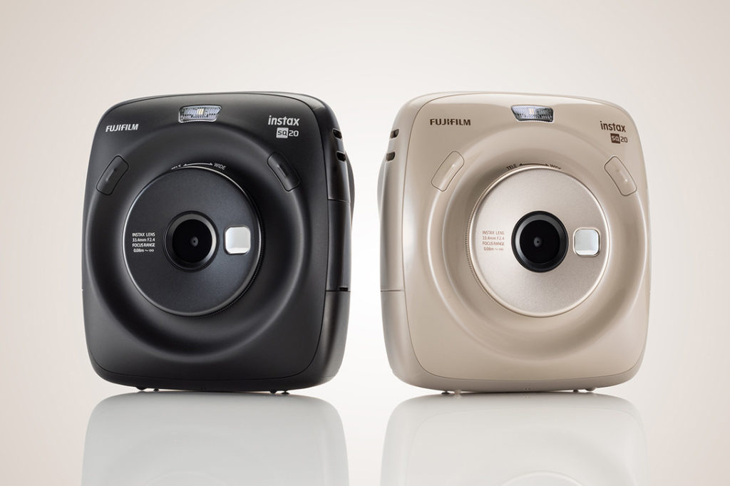 Fujifilm Instax Square-SQ20 обзор