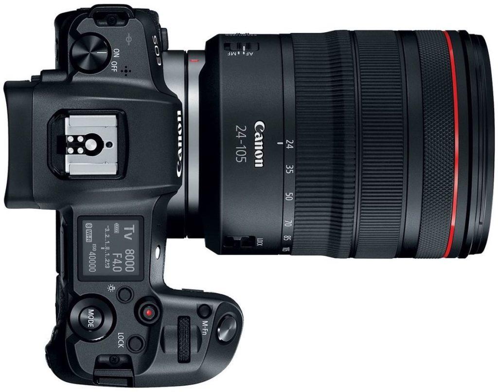 Характеристики Canon EOS R