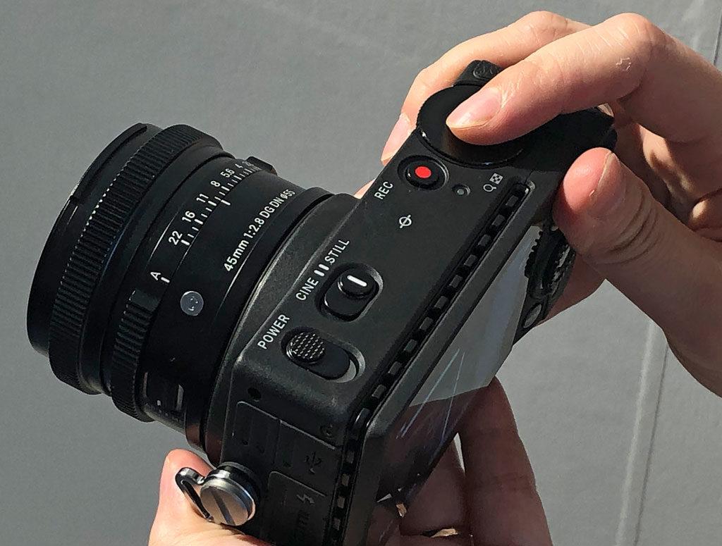 Камера Sigma fp обзор