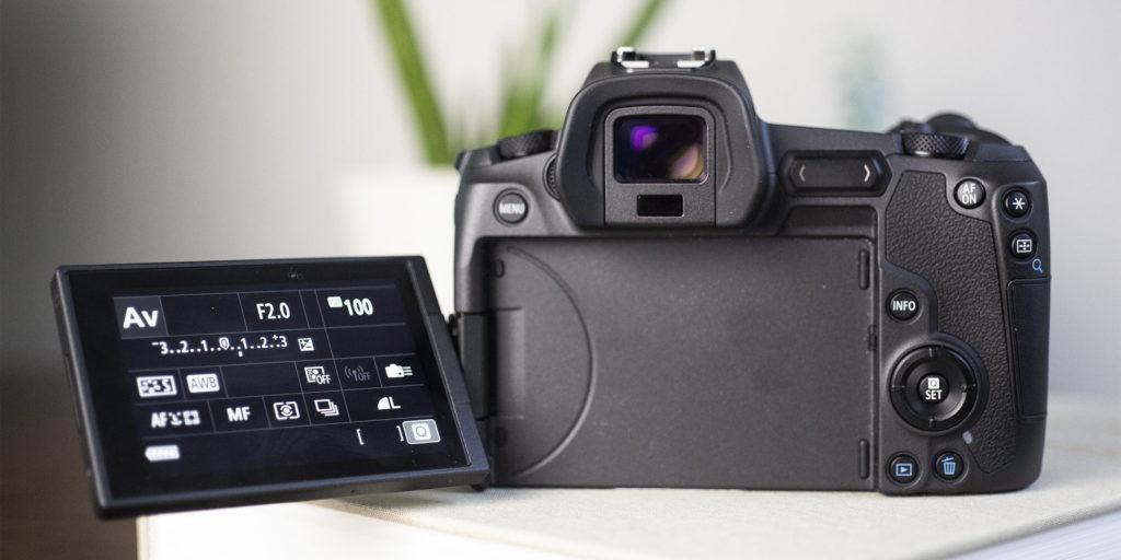 Производительность Canon EOS R
