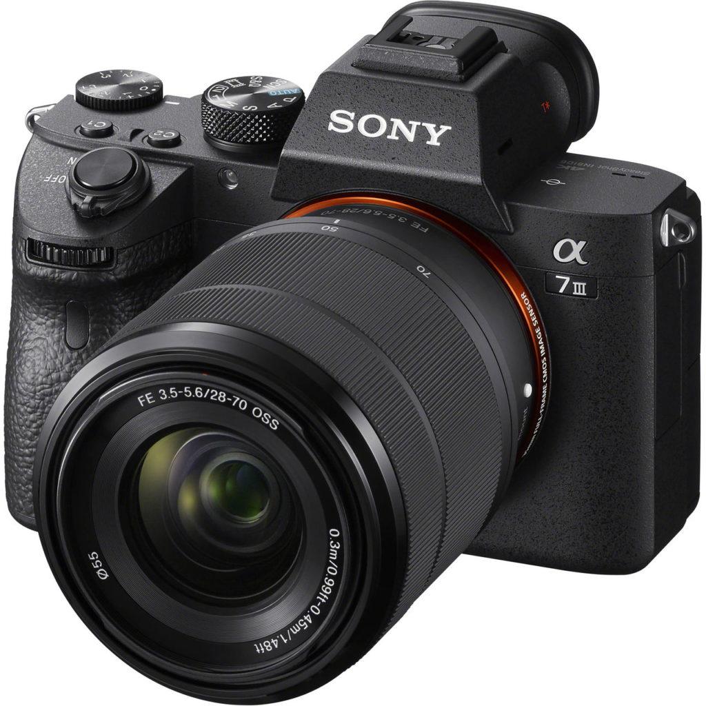 Лучшие фотоаппараты Sony Alpha A7 III