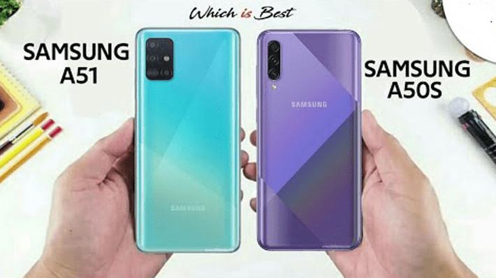 Сравнение характеристик и цен на Samsung Galaxy A51, A50s и A50