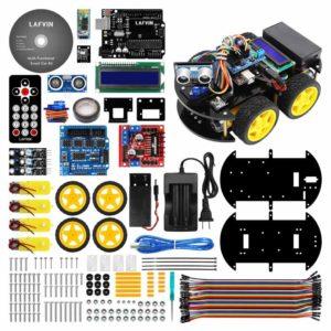 Автомобильный комплект умного робота LAFVIN UNO R3