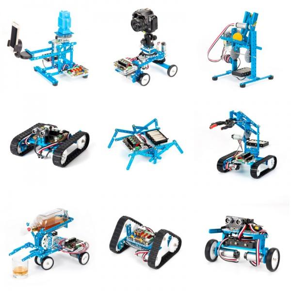 Базовый робототехнический наборMakeblockUltimate Robot Kit V2.0 90040