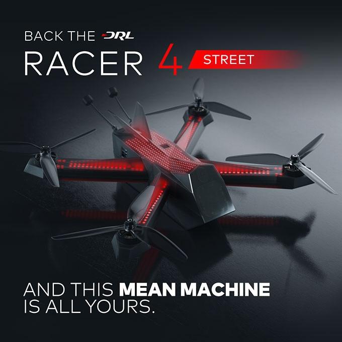 DRL Racer4 рынок гоночных беспилотников