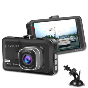Характеристики  PROCUS CAR DASH CAMERA, отзывы