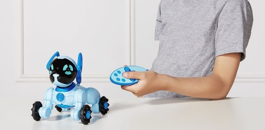 Интерактивная собака робот Chippies Robot