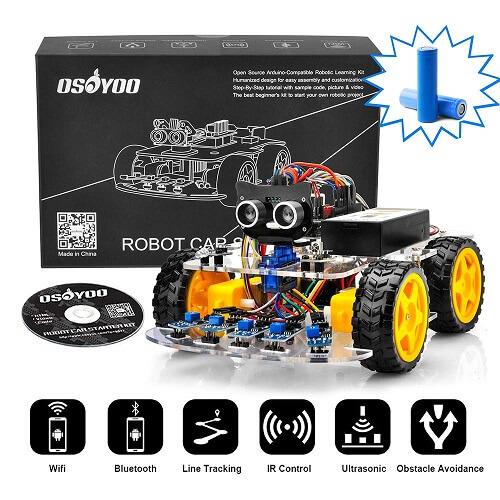 OSOYOO Робот Стартовый комплект для автомобиля Arduino