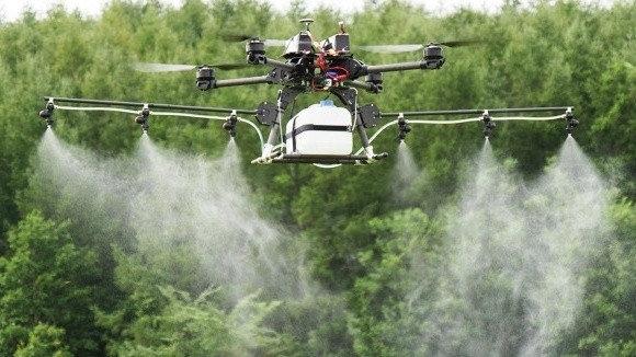 Применение дронов в сельском хозяйстве