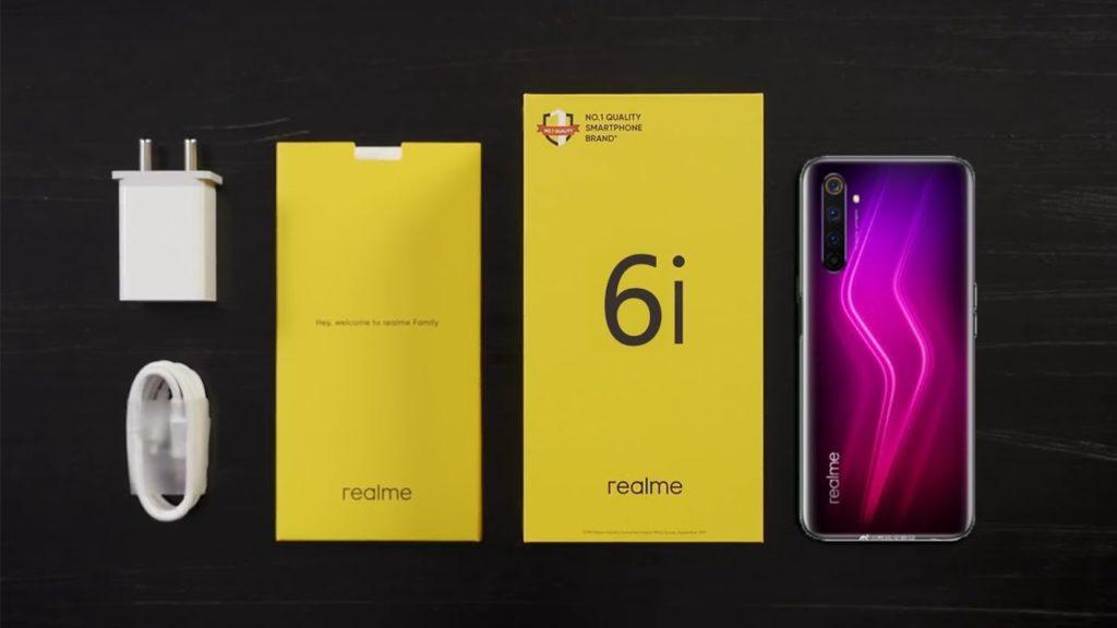 Realme 6i ожидаемая цена, технические характеристики