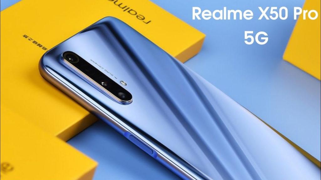 Realme X50 Pro 5G обзор, характеристики, стоимость смартфона