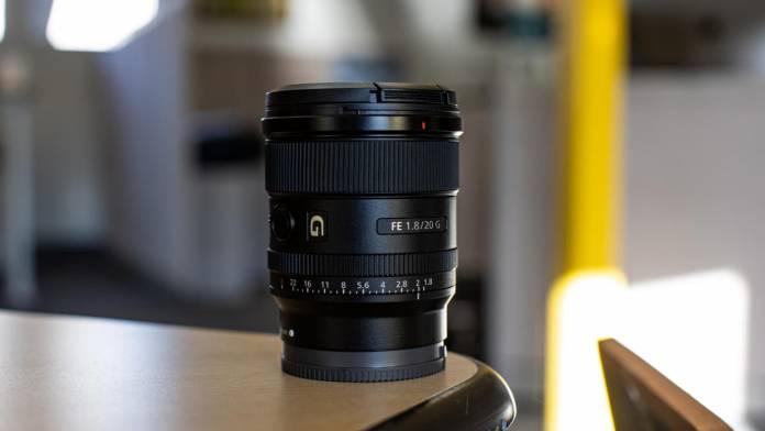 Sony выпустил новый объектив Prime G FE 20 мм F1,8 G