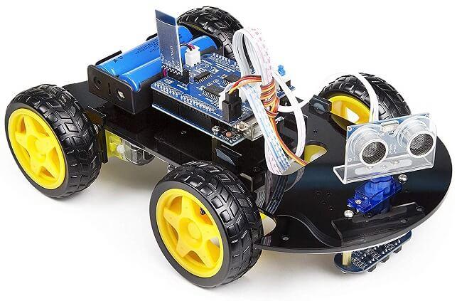 UCTRONICS WiFi умный робот автомобильный комплект для Arduino