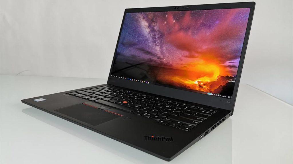 Лучший портативный:Lenovo ThinkPad X1 Carbon 7 поколения