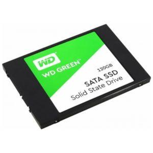 Внутренний твердотельный накопитель WD Green 120 ГБ (WDS120G2G0A)