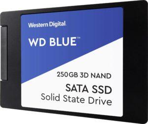 Western DigitalBLUE 3D NAND SATA SSD 250 GB (WDS250G2B0A)