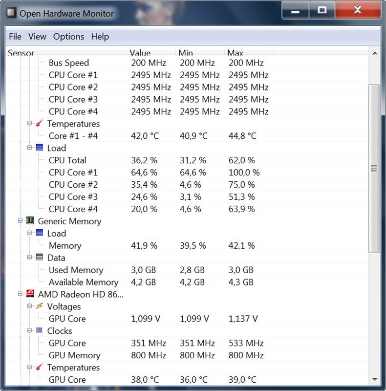 Как проверить температуру компьютера и ноутбука