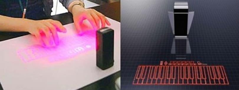 Как выбрать лазерную клавиатуру для смартфона