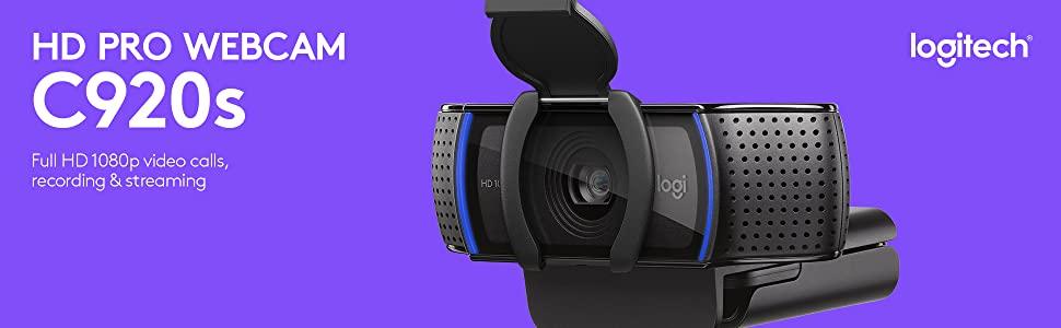 Лучшая веб-камера Logitech HD Pro Webcam C920S