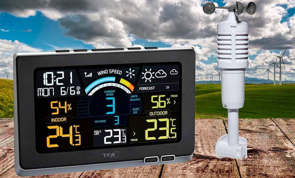 Лучшие домашние беспроводные метеостанции с выносным датчиком
