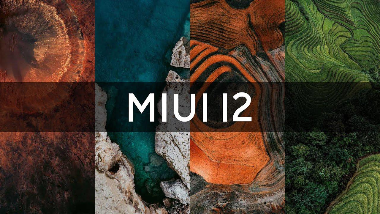 Живые обои MIUI 12