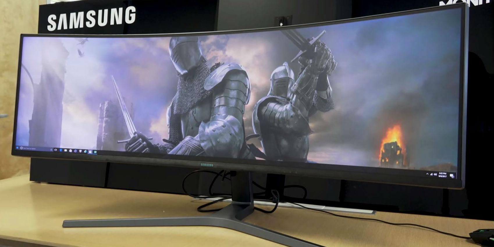большие и широкие мониторы для компьютера
