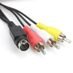 подключение компьютера к телевизору с помощью кабеля S-Video
