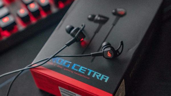 Игровые наушники Asus ROG Cetra обзор, характеристики