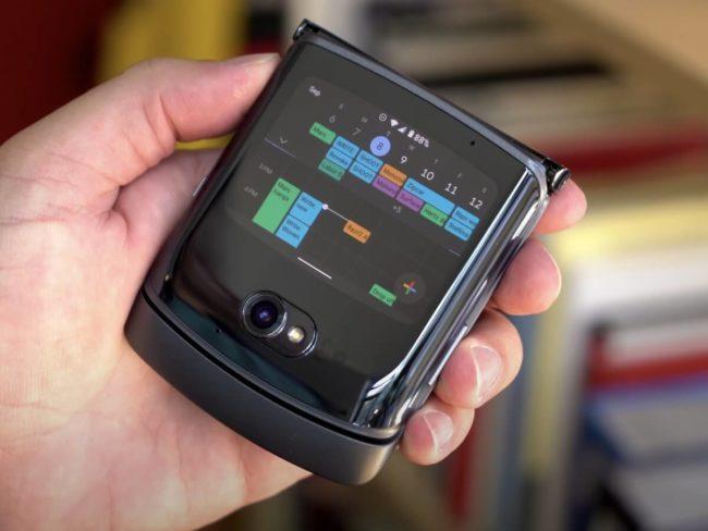 Motorola razr 5G обзор
