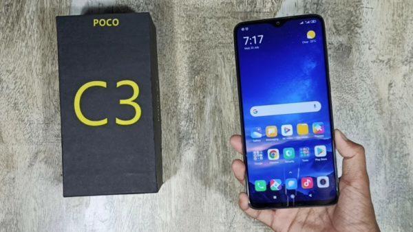 Обзор смартфона Poco C3