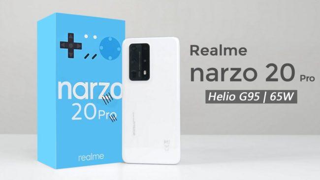 Realme Narzo 20 Pro обзор