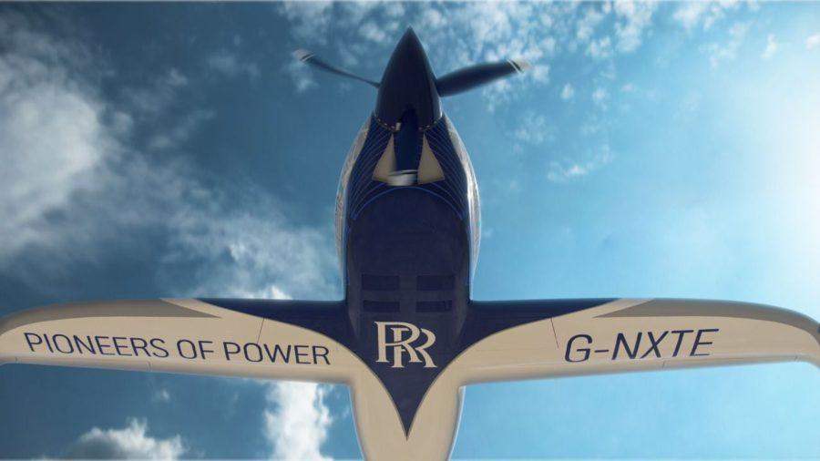 Rolls-Royce электросамолет