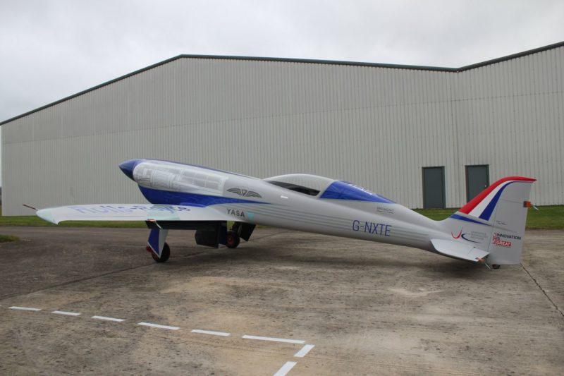Rolls-Royce самолет на аккумуляторах