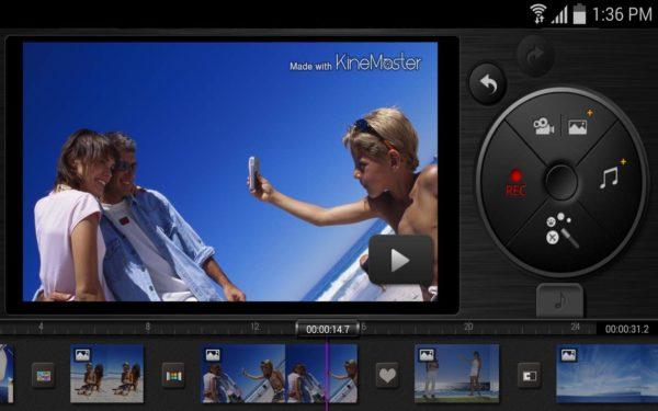 Видеоредактор KineMaster Pro приложение