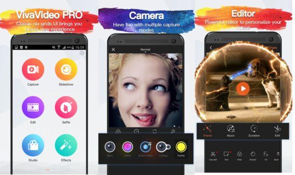 Видеоредактор VivaVideo приложение