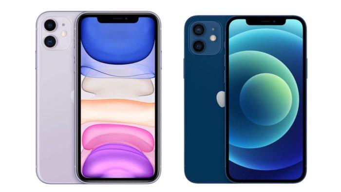 Сравнение iPhone 12 vs iPhone 11