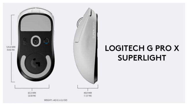 мышка Logitech G Pro X Superlight обзор