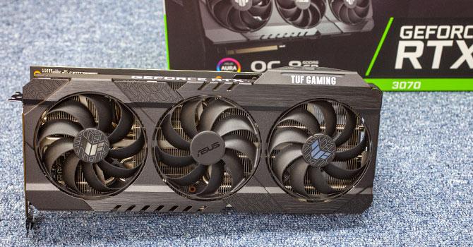 ASUS TUF GeForce RTX 3070 OC Edition