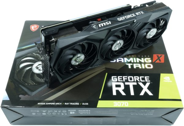 Лучшие видеокарты MSI GeForce RTX 3070 Gaming X Trio