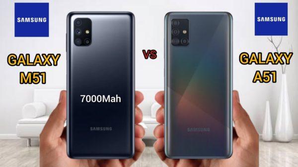 Samsung Galaxy A51 vs Galaxy M51 чем они отличаются