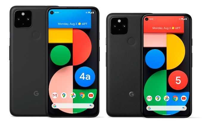 Pixel 5 и Pixel 4a 5G какой выбрать