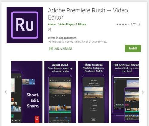 лучшие приложения для редактирования видео на андроид