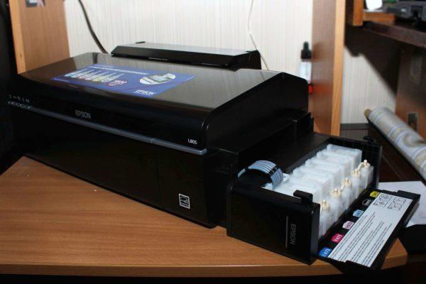 Epson L805 обзор