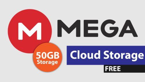 mega диск облачное хранилище