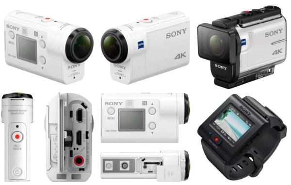 выбираем экшн камеру