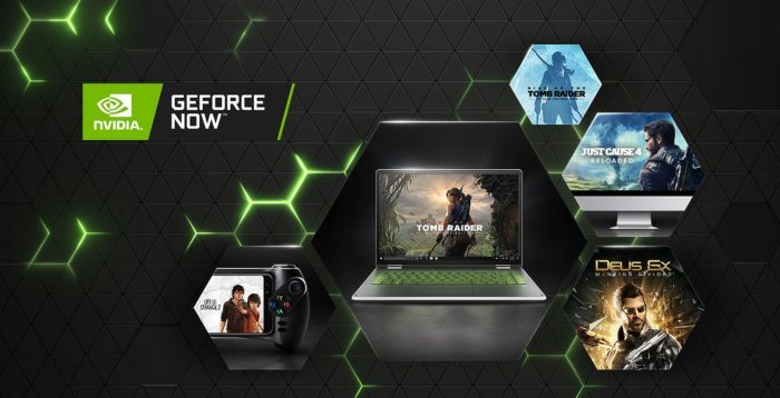 облачный игровой сервис GeForce Now